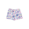 Shipley Shorts - Palm Springs Peony with Palm Beach Pink Bow