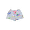 Shipley Shorts - Pima Cotton Cabana Rentals with Hamptons Hot Pink