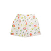 Shirley Shorts - New Canaan Cluster with Worth Avenue White Eyelet