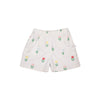 Shirley Shorts - Travilah Tulip with Worth Avenue White Eyelet