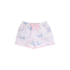 Shirley Shorts - You're Whalecome with Plantation Pink