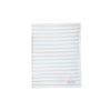 Silent Night Throw - Buckhead Blue Stripe with Worth Avenue White Trim