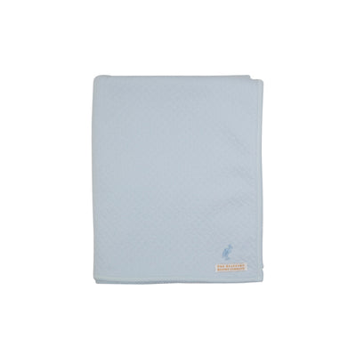 Silent Night Throw - Buckhead Blue Matelasse