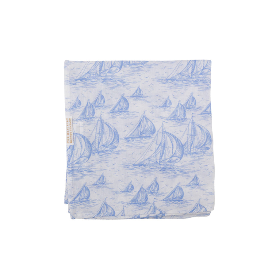 Silent Night Swaddle - St. Simon's Sailboat