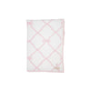 Silent Night Throw - Belle Meade Bow with Palm Beach Pink