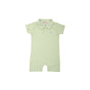 Sir Proper's Romper - Marietta Mint Stripe with Buckhead Blue Stripe