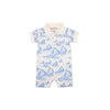 Sir Proper's Romper - St. Simon's Sailboat (blue)