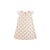 Sleeveless Polly Play Dress - Fairhope Flowers with Worth Avenue White Eyelet
