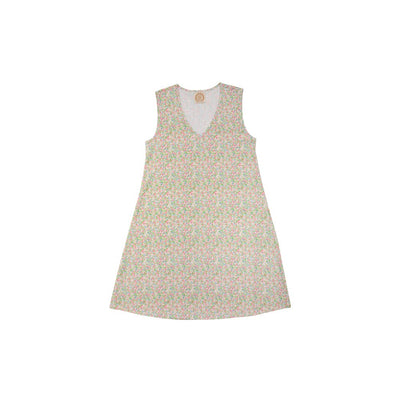 Sleeveless Polly Play Dress (Ladies) - Mary Mac Micro Floral