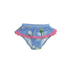 St. John Swim Bottom - Olde Florida with Hamptons Hot Pink