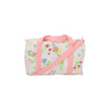 Stewart Sleepover Tote - Dallas Daffodils with Sandpearl Pink