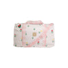 Stewart Sleepover Tote - Travilah Tulip with Chattanooga Check