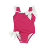 Sullivan's Island Swimsuit - Winter Park Pink with Worth Avenue White