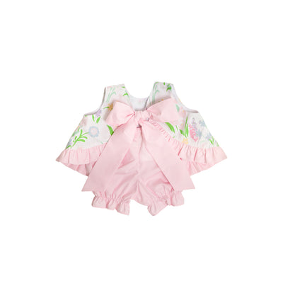 Susy Swing Top Set - Belvedere Blooms with Palm Beach Pink