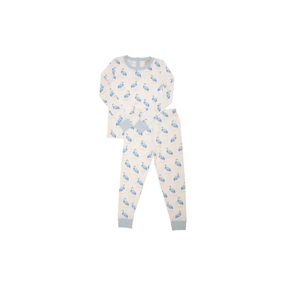 Sutton's Sweet Dream Set - Seaside Stork with Buckhead Blue
