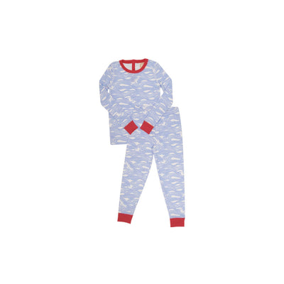 Sutton's Sweet Dream Set (Unisex) - Gull Play with Richmond Red