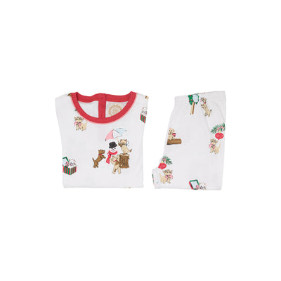 Sutton's Sweet Dream Set - Santa Paws with Richmond Red