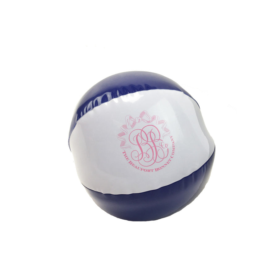 T.B.B.C. Beach Ball - Navy with Hot Pink