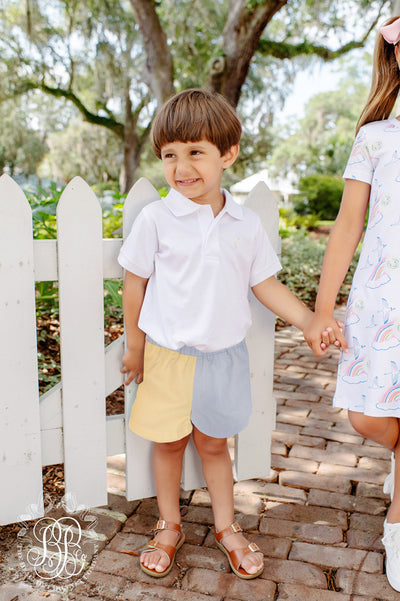 Shelton Shorts (Pique) - Buckhead Blue, Plantation Pink, Seaside Sunny Yellow, Marietta Mint