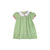 Tabitha's Teacher's Pet Dress - Grenada Green Gingham with Hamptons Hot Pink