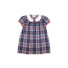 Tabitha's Teacher's Pet Dress - Planters Inn Plaid with Richmond Red