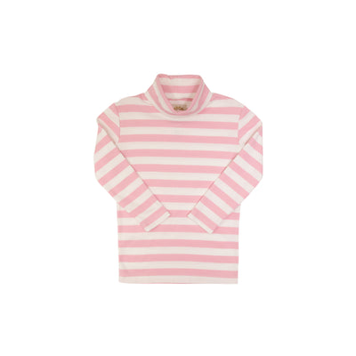 Tatum's Turtleneck - Plantation Pink Stripe