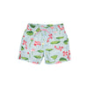 Tortola Trunks - Cute & Koi with Hamptons Hot Pink