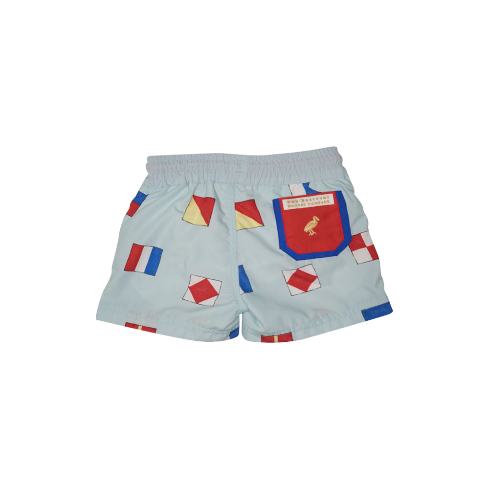 cfd03e3007a1f Vintage Volley Trunks - Fripp Fishies with Hamptons Hot Pink and ...