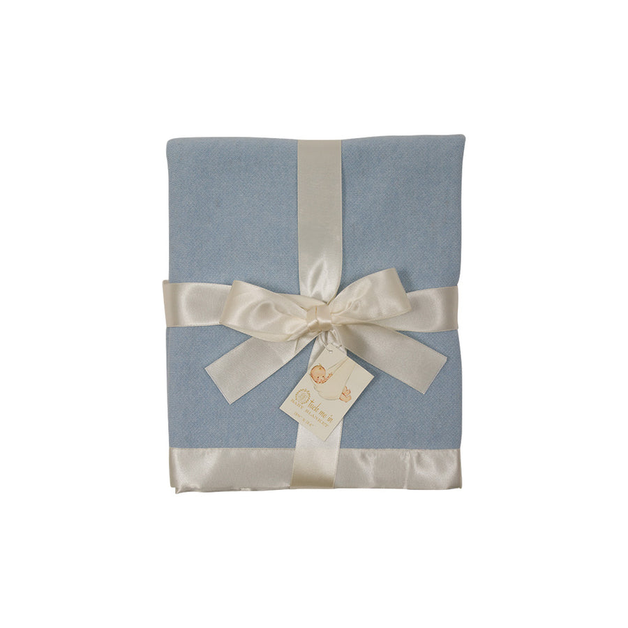 Tuck Me In Baby Blanket - Buckhead Blue