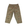Von Trapp Trousers - Keeneland Khaki Corduroy with Field Master Fox
