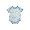 Walt Onesie - Doggy Paddie with Sunrise Blvd. Blue