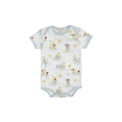 Walt Onesie - S.S. Beaufort with Buckhead Blue