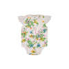 Wendy Onesie - Marietta Morning Glory with White Eyelet Trim