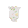 Wendy Onesie - South Snapdragon with Worth Avenue White Eyelet