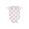 Wendy Onesie - Shell We Swim? with Worth Avenue White Eyelet