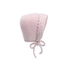 Westminster Bonnet - Palm Beach Pink (knit)