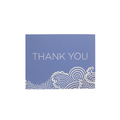 Thank You Cards - Wilmington Waves - Park City Periwinkle