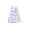 Sleeveless Polly Play Dress (Ladies) - Palm Springs Peony