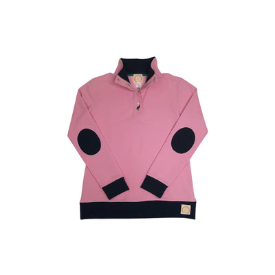 Pendleton Popped Collar - Hamptons Hot Pink with Nantucket Navy