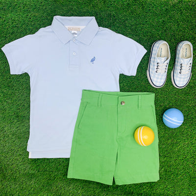 Charlie's Chinos - Grenada Green with Worth Avenue White Stork