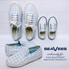 SeaVees Legend Sneaker (Ladies) - Buckhead Blue Gingham