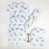 Silent Night Swaddle - Seaside Stork
