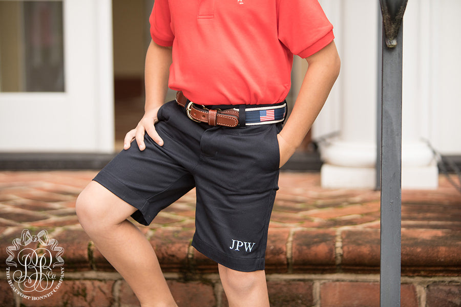 Bullock Belt - Preppy Patriot