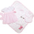 Baby Buggy Blanket - Plantation Pink Micro Dot with Plantation Pink