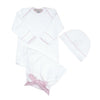 Darling Debut Set - Worth Ave. White with Plantation Pink