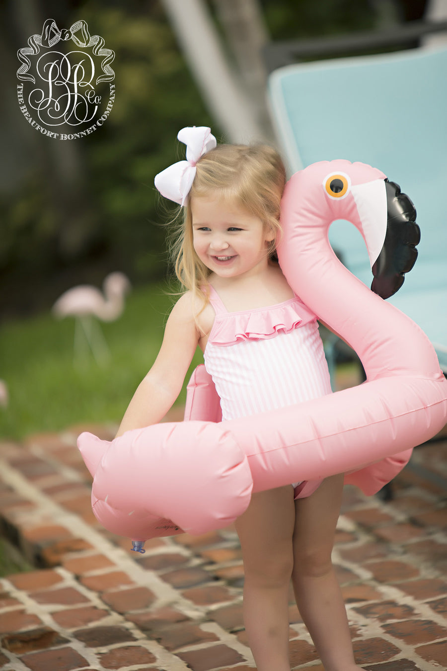 Baby Flamingo Float