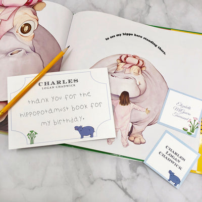 Stationery - Bal Harbour Hippo