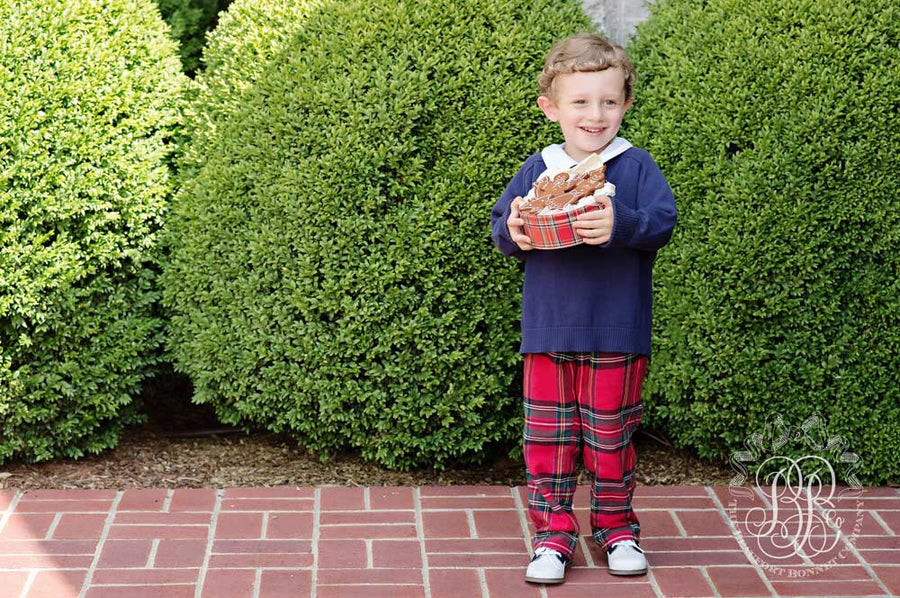 Prep School Pants - Society Prep Plaid