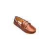 Elephantito Regatta Boat Shoe - Natural Leather
