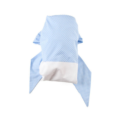 Bow Swaddle <sup>&reg;</sup> - Blue Gasparilla Gingham
